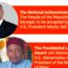 Macky Sall et Mahamadou Issoufou à l'honneur lors du 36e gala de l'Africa-America Institute