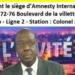 La diaspora sénégalaise manifeste ce samedi devant le siège d'Amnesty International à Paris, en soutien à Boubacar Sèye